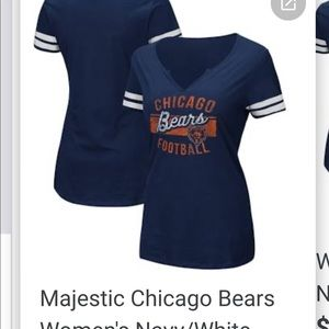 Chicago Bears Fitted Tee NWT